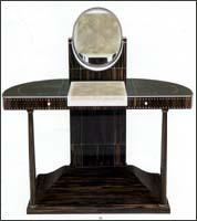 coiffeuses art deco. Black Bedroom Furniture Sets. Home Design Ideas