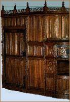 dressoirs armoires moyen age. Black Bedroom Furniture Sets. Home Design Ideas